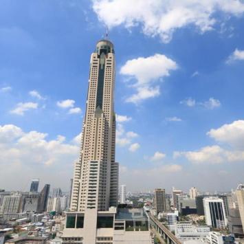 最高のバンコクの超高層ホテル