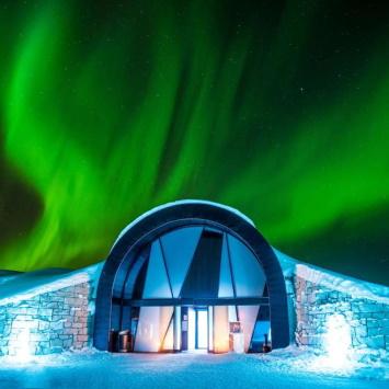 Необычные отели в мире